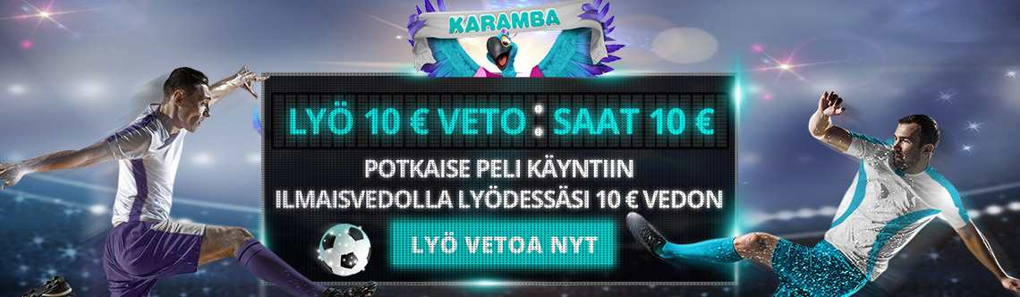 Karamba bonus on ilmaisveto